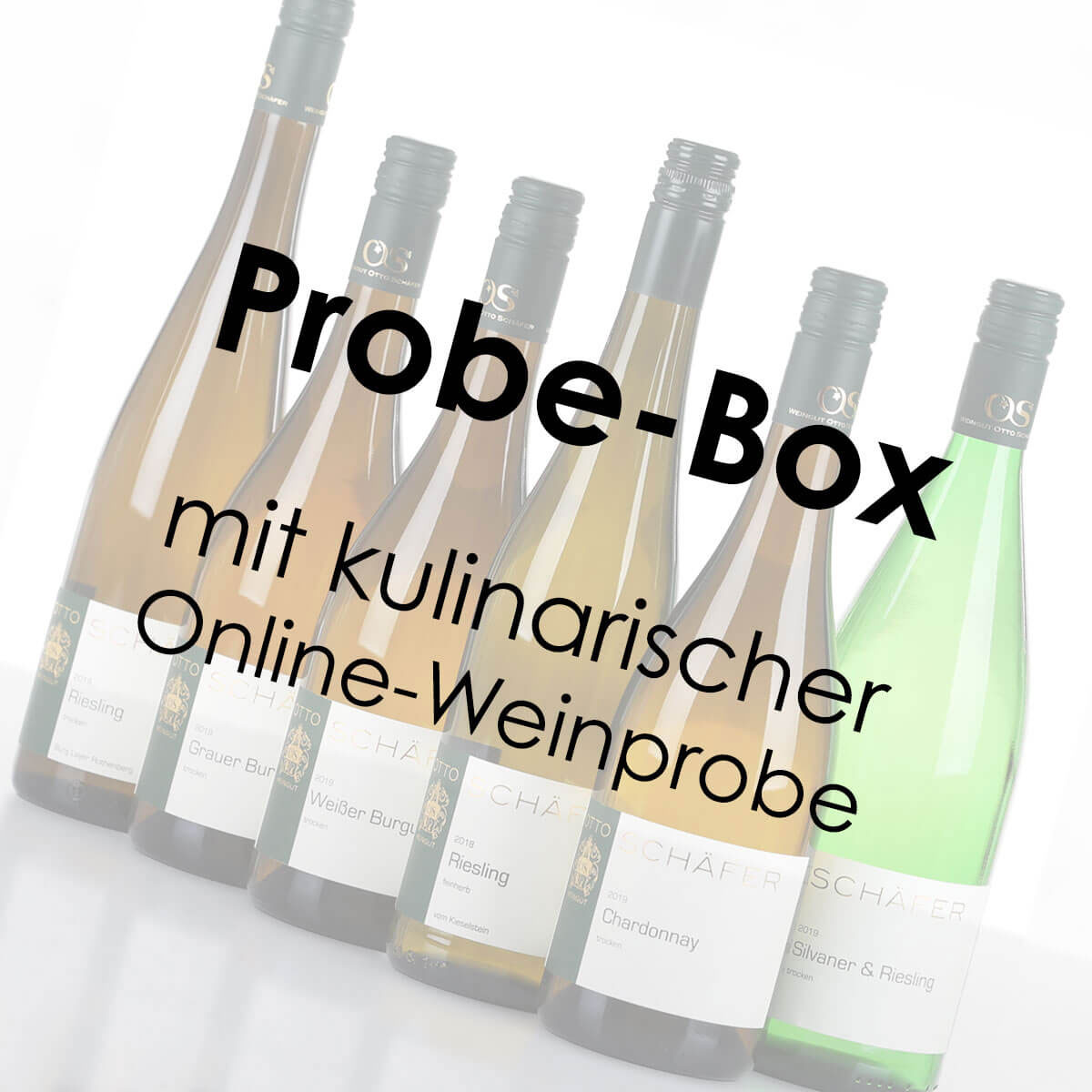 Überraschungs-Box (8 Fl.) mit kulinarischer Online-Weinprobe • Weingut Otto Schäfer