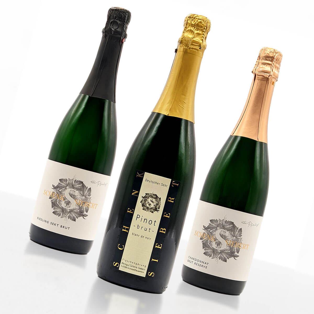 Weinpaket SCHAUMWEIN (klein) • Weingut Schenk-Siebert