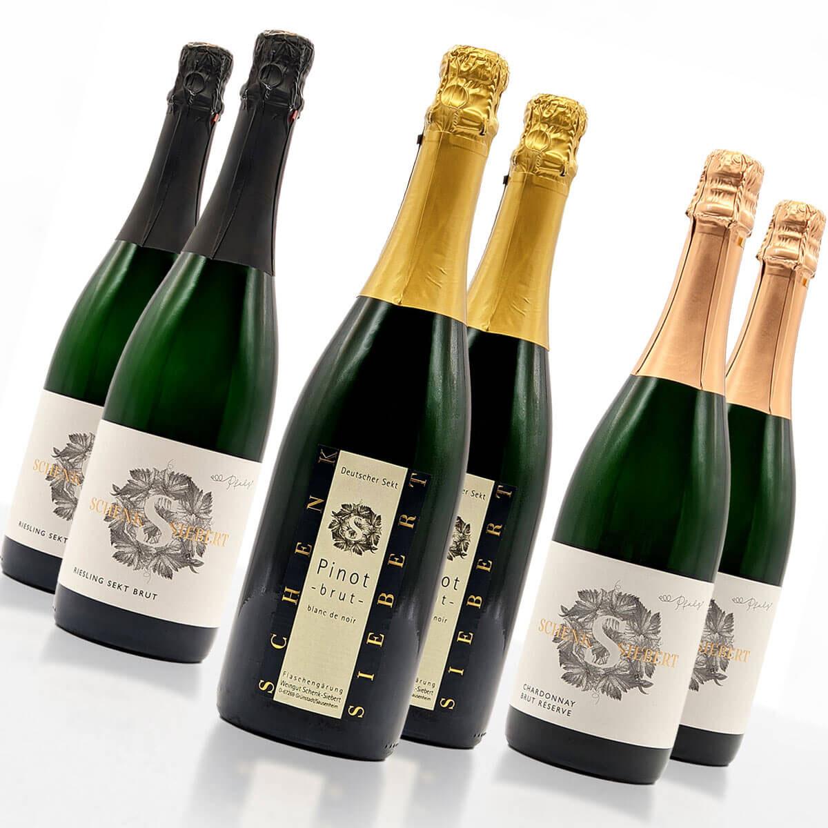 Weinpaket SCHAUMWEIN • Weingut Schenk-Siebert