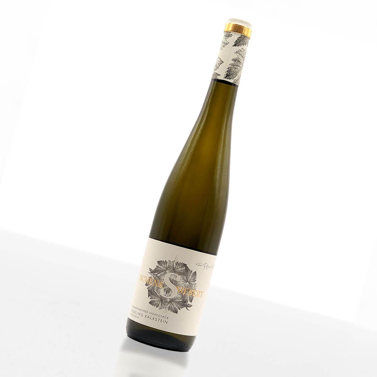 2018 Sausenheimer Honigsack - Riesling Kalkstein trocken • Weingut Schenk-Siebert