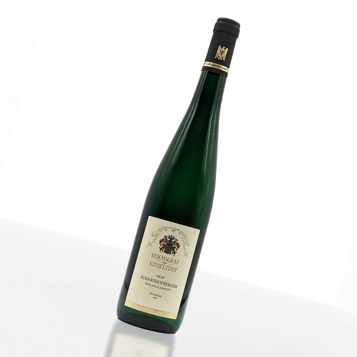 2018er Scharzhofberger Riesling Kabinett feinherb • Weingut Reichsgraf von Kesselstatt