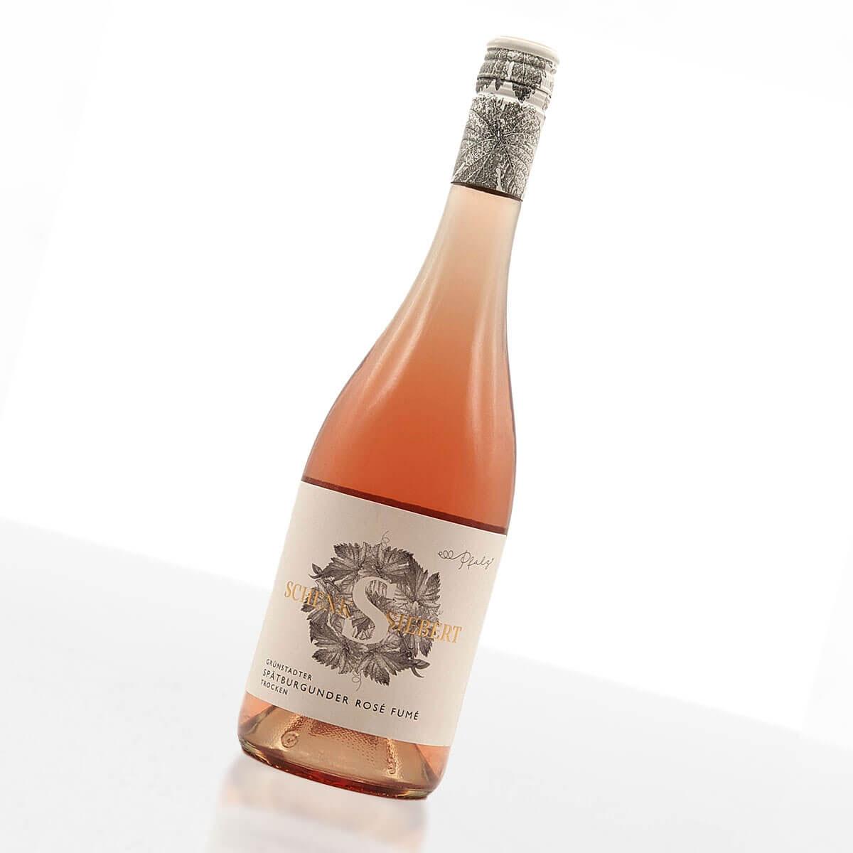 2019 Grünstadter Spätburgunder Rosé Fumé trocken • Weingut Schenk-Siebert