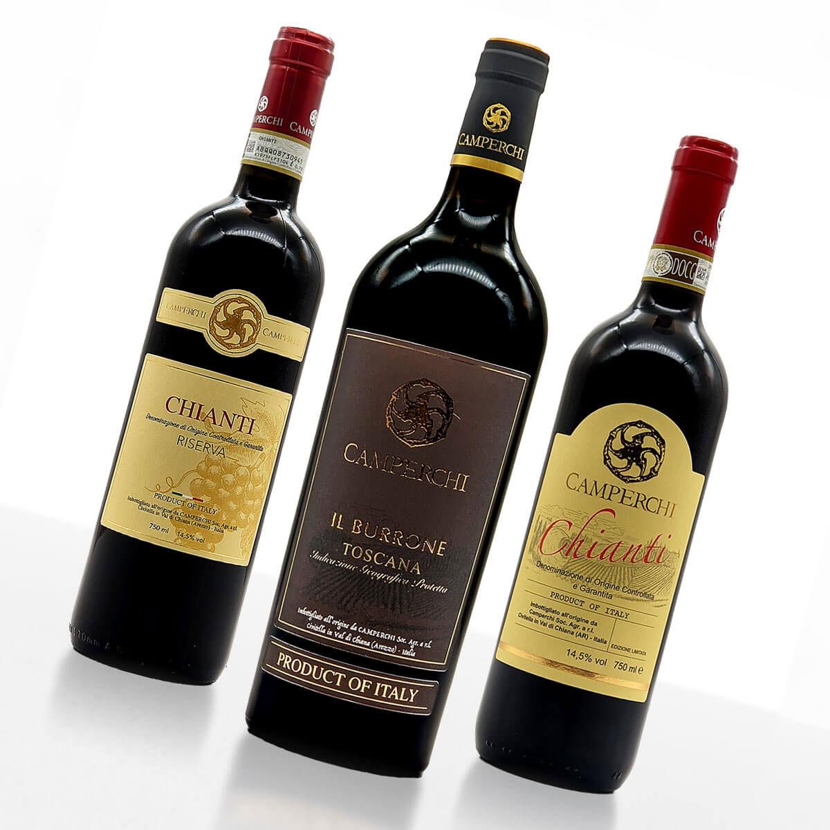 "Weinpaket ""Rosso Rubino"" • Weingut Camperchi"