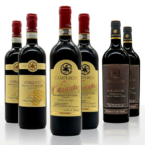 "Weinpaket ""Rosso Rubino"" (XL) • Weingut Camperchi"