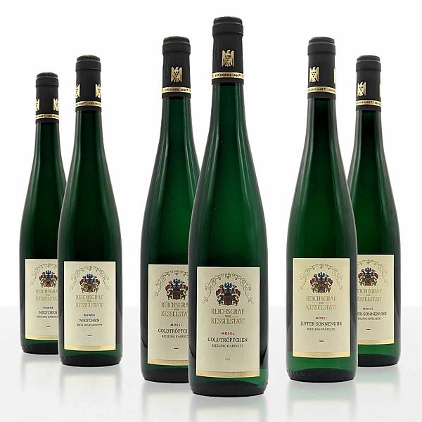 """Weinpaket """"Ein Stück KULTURGUT der Mosel"""" • Reichsgraf von Kesselstatt GmbH"""