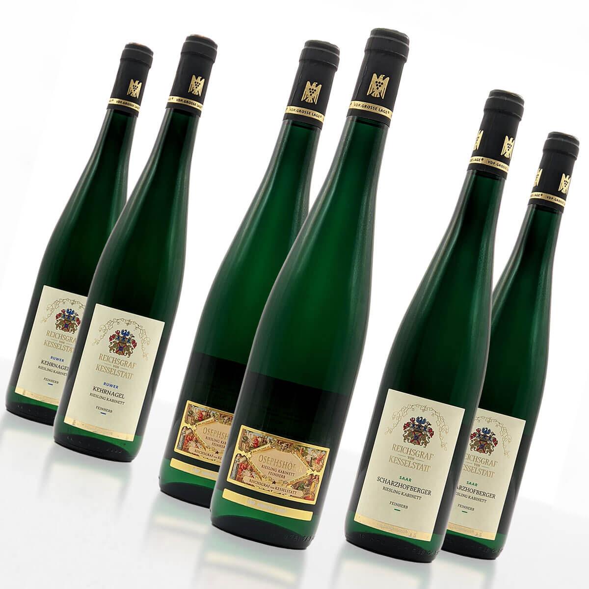 """Weinpaket """"feinherb"""" • Reichsgraf von Kesselstatt GmbH"""