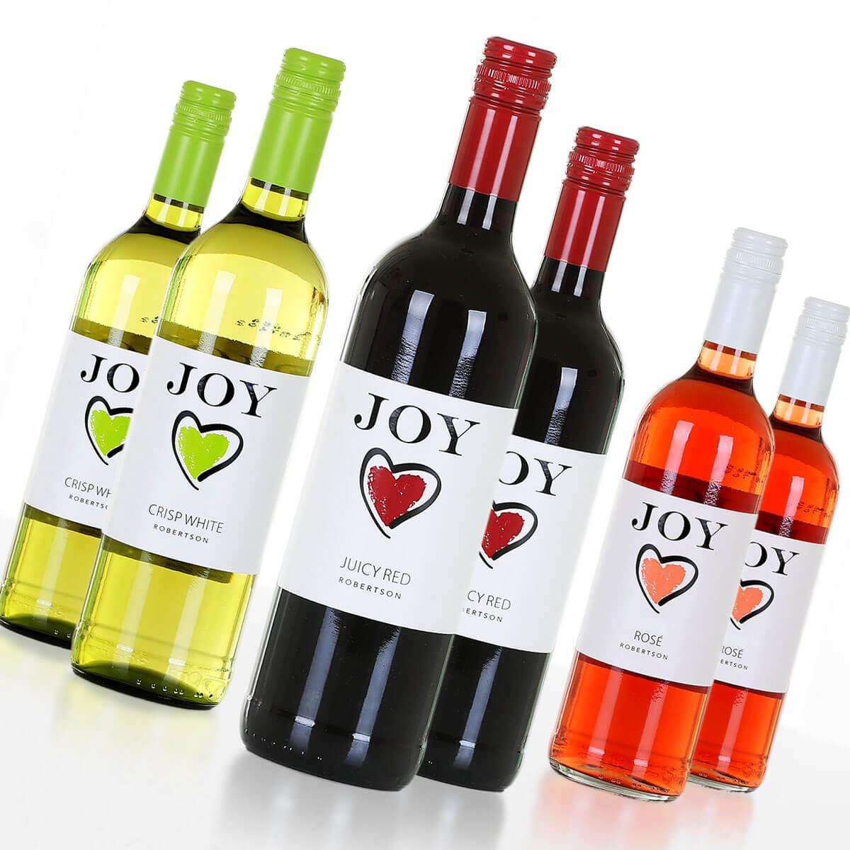 Weinpaket JOY • Weine aus Südafrika