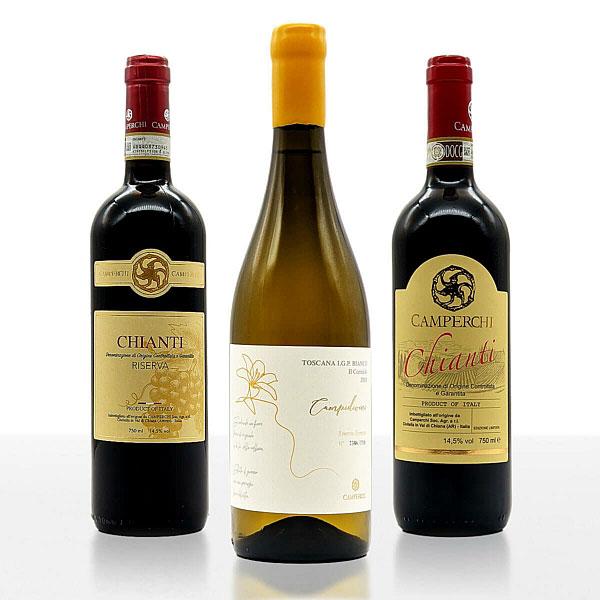 "Weinpaket ""Perlen der Toskana"" • Weingut Camperchi • Italien"