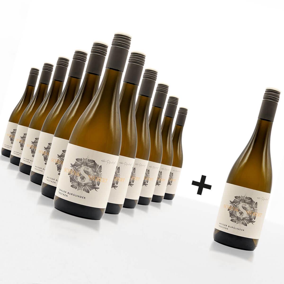 11+1 Weiss- & Grauburgunder Weinpaket • Weingut Schenk-Siebert