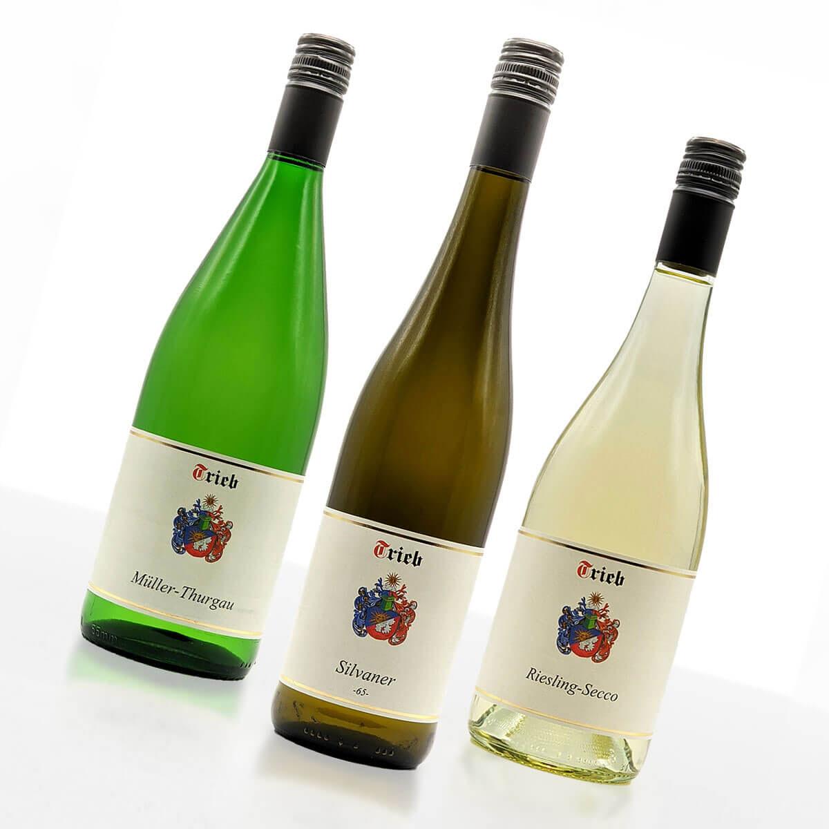 Probierpaket Weiße Vielfalt • Weingut Trieb
