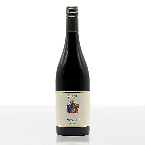Zweierlei feinherb • Cuvée • Weingut Trieb